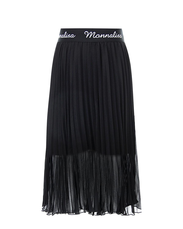 Купить Плиссированная юбка с поясом на резинке Monnalisa