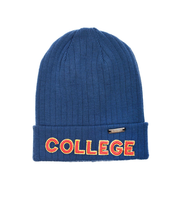 Купить Шерстяная шапка с нашивкой college Il Trenino
