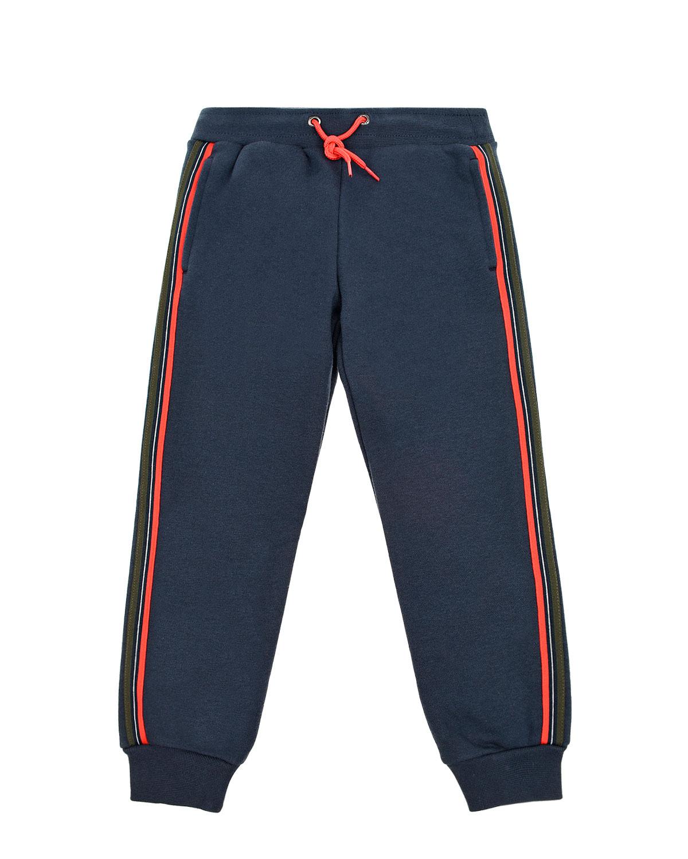 Купить Спортивные брюки из хлопка с лампасами Paul Smith