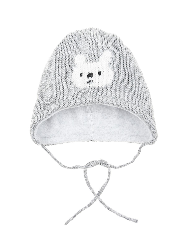 Жаккардовая шапка с флисовой подкладкой MaxiMo детская фото