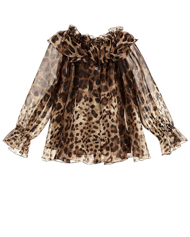 блузка dolce & gabbana для девочки
