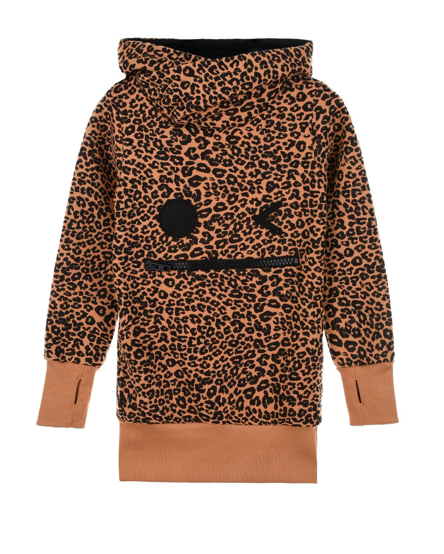 Купить Толстовка-худи Muffin hoodie Panter Zombie Dash детская, Коричневый, 90%хлопок+10%полиэстер