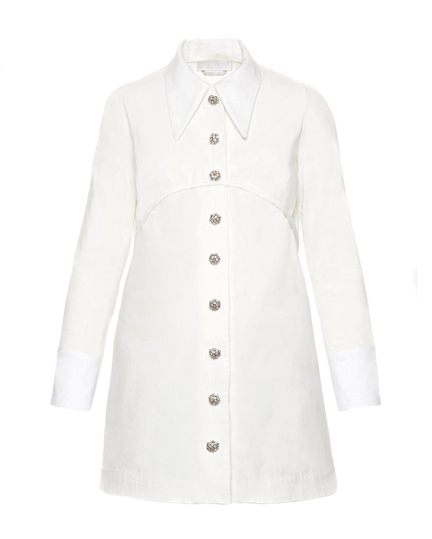 Белый бархатный комплект для беременных Laurel BIANCA BALTI фото