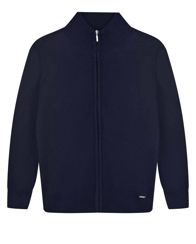 Купить Темно-синяя кофта из шерсти и кашемира Il Trenino