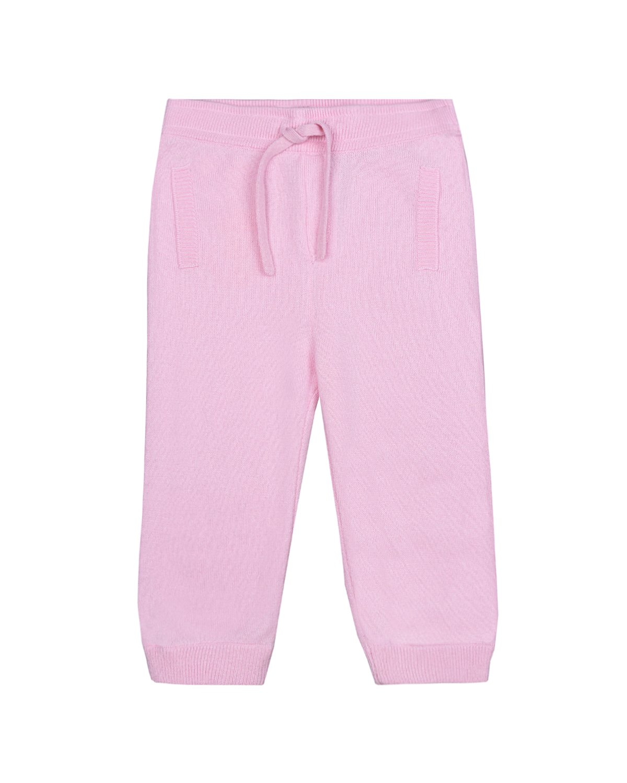 Купить Спортивные брюки из кашемира Dolce&Gabbana детские, Розовый, 100%кашемир, 100%вискоза