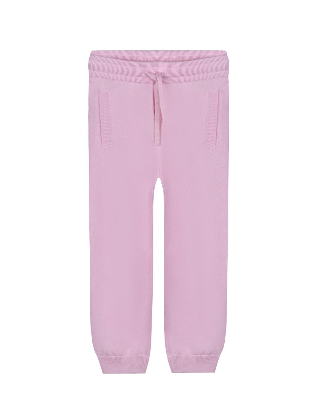 Купить Спортивные брюки из кашемира Dolce&Gabbana детские, Розовый, 100%кашемир. 100%вискоза