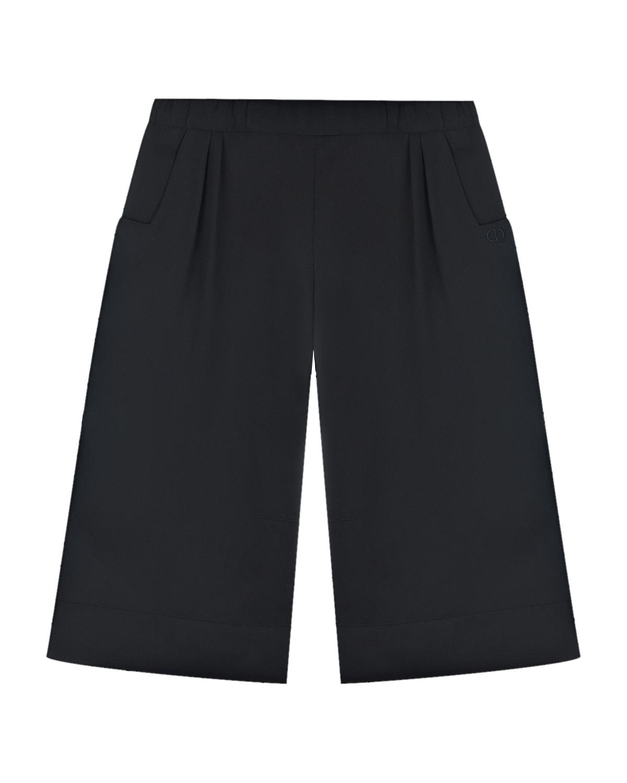 Купить Черные классические брюки Dior детские, Черный, 100% лиоцелл