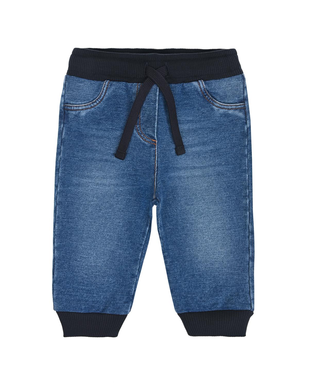Купить Джинсы с черным эластичным поясом Dolce&Gabbana детские, Голубой, 95%%хлопок+5%эластан, 100%вискоза