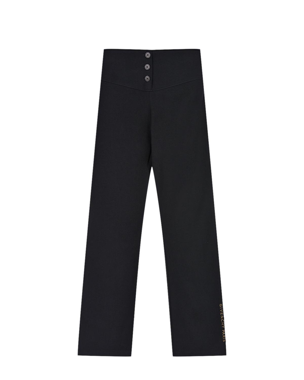 Купить Спортивные брюки для девочек Givenchy детские, Черный, 87%хлопок+13%эластан