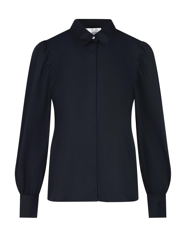 Купить Блузка с объемными рукавами Les Coyotes de Paris, Серый, 100% хлопок