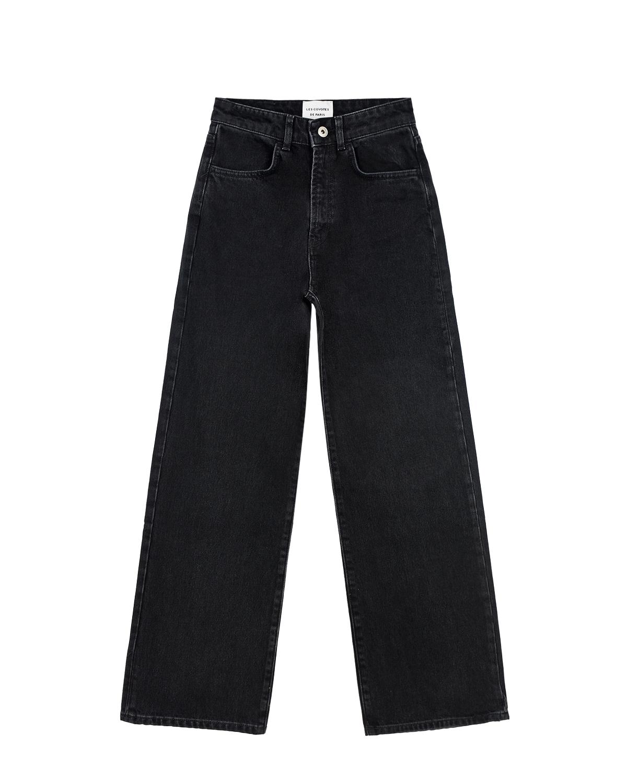 Купить Широкие джинсы для девочек Les Coyotes de Paris детские, Нет цвета, 100%хлопок