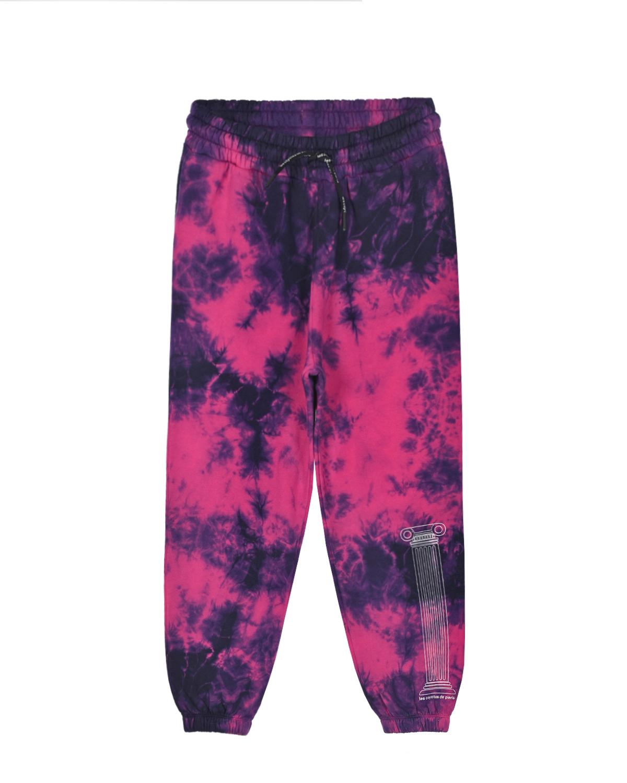 Купить Спортивные брюки в стиле tie-dye Les Coyotes de Paris детские, Нет цвета, 100%хлопок
