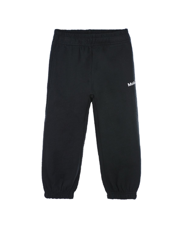 Купить Черные спортивные брюки с логотипом Molo детские, Черный, 100%хлопок