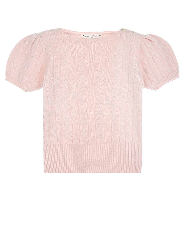 Купить Розовый джемпер Oscar et Valentine детский, 100% кашемир
