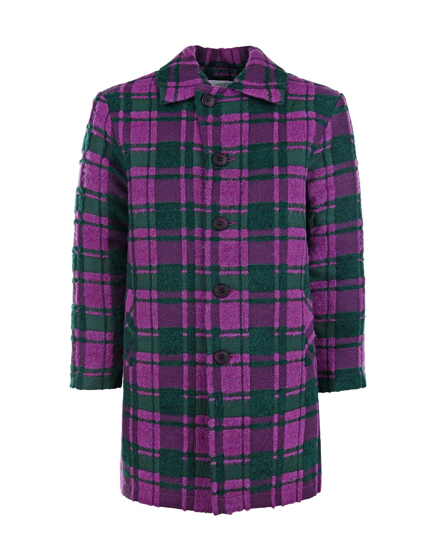 Купить Длинная рубашка в клетку Paade Mode детская, Мультиколор, 37%акрил+27%полиамид+14%хлопок+14%полиэстер+4%вискоза+4%шерсть, 100%вискоза