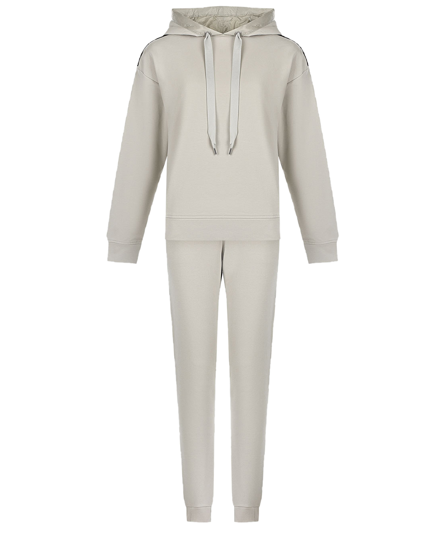 Серебристо-серый спортивный костюм Parajumpers.