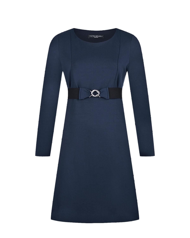 Синее платье для кормления Pietro Brunelli цвет нет цвета