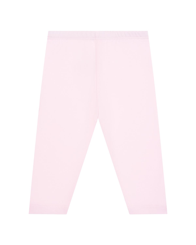 Купить Леггинсы пудрового цвета Sanetta Kidswear детские, Розовый, 95%хлопок+5%эластан