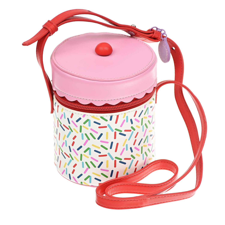 Купить Сумка в виде торта, 12x10x10 см Stella McCartney детская, Мультиколор, 100%полиуретан, 100%полиэстер