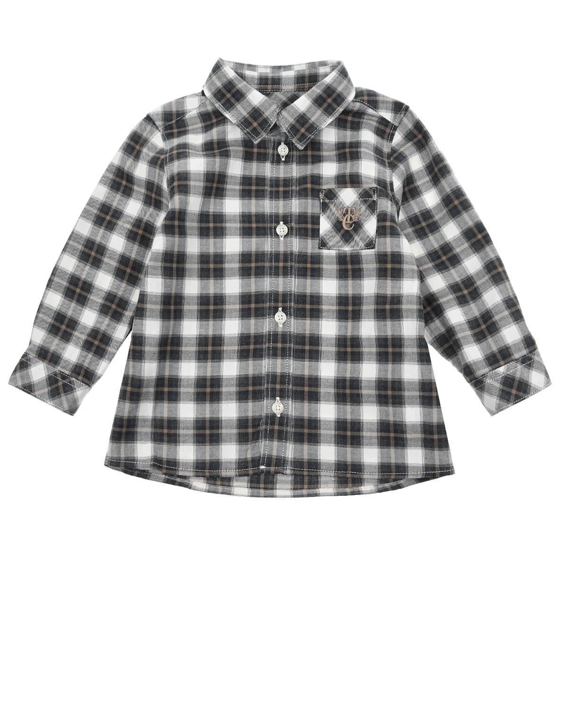 Купить Рубашка в клетку Tartine et Chocolat детская, Мультиколор, 100%хлопок