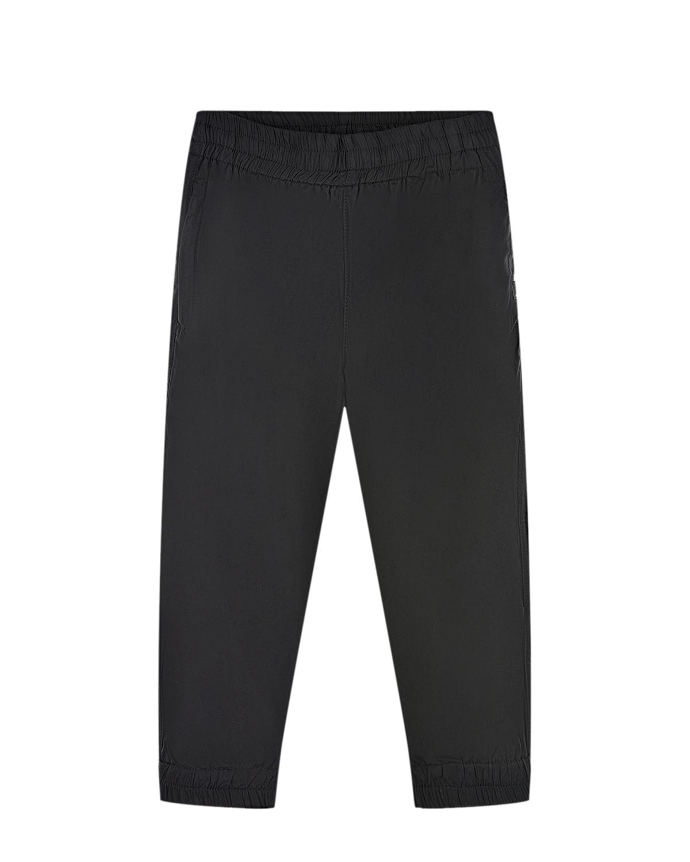 Купить Черные болоневые брюки Molo детские, Черный, 100%полиэстер