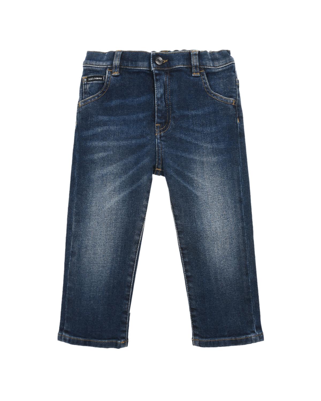 Купить Базовые джинсы из хлопка и эластана Dolce&Gabbana детские, Синий, 98%хлопок+2%эластан