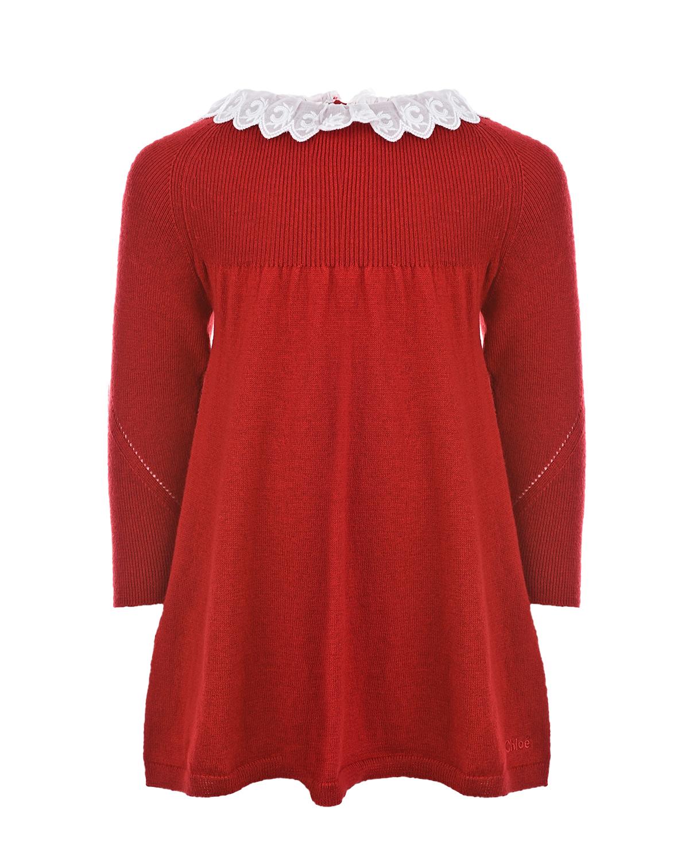 вязаные платье chloe для девочки