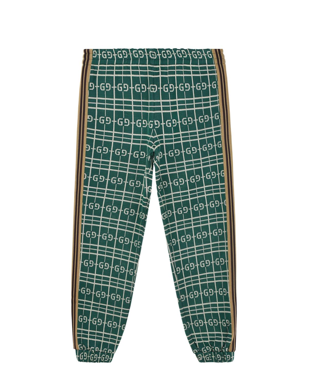 спортивные брюки gucci для девочки