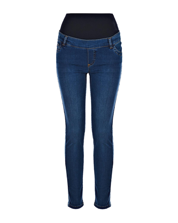 женские джинсы с высокой посадкой pietro brunelli