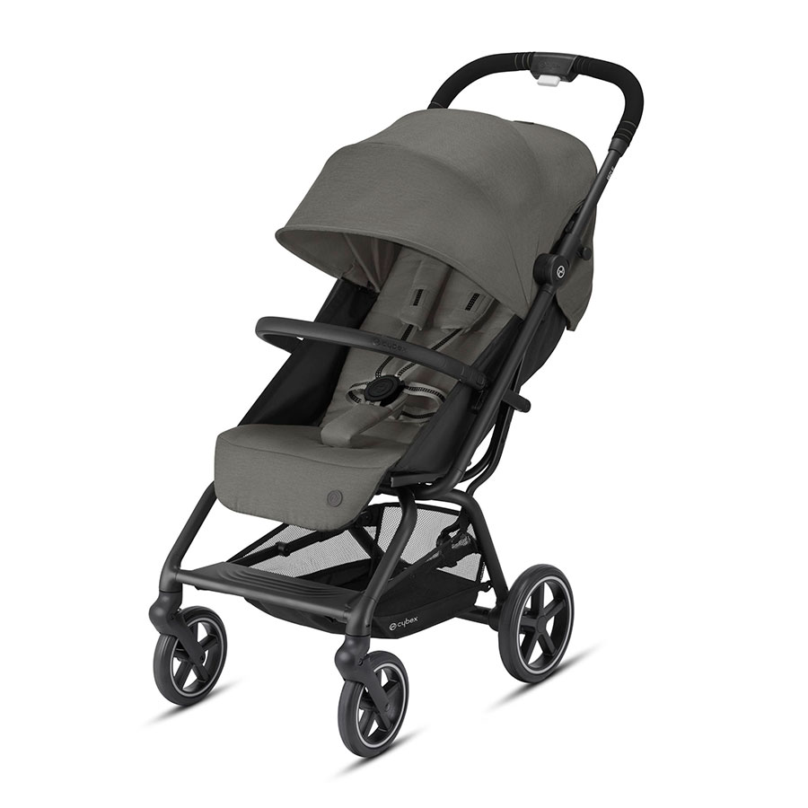 Купить Прогулочная коляска Eezy S+ 2 BLK Soho Grey CYBEX, Нет цвета, Полиэстер, пластик, металл