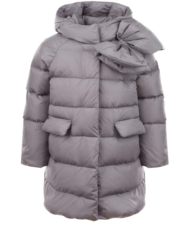 Купить Стеганое пуховое пальто IL Gufo детское, Сиреневый, 100%полиамид, 100%полиэстер, 90%пух+10%перо