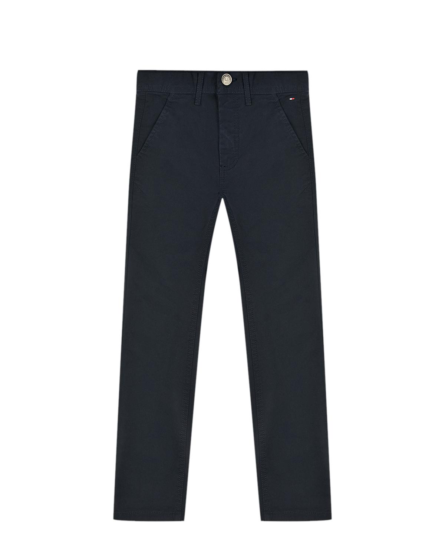 Купить Синие брюки чинос Tommy Hilfiger детские, Синий, 97%хлопок+3%эластан
