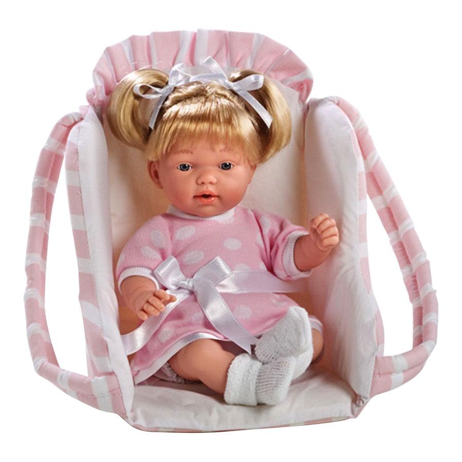 Кукла Arias  в автокресле, роз Elegance, 28смКуклы. Фигурки<br><br>