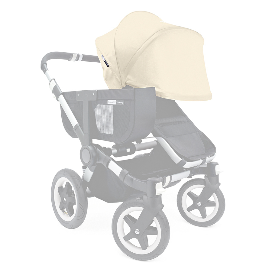 Капор раздвижной Bugaboo Donkey Off White