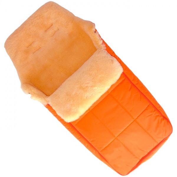 Купить Конверт CHRIST Babysweet DAVOS оранжевый, Оранжевый, 100%натуральный мех