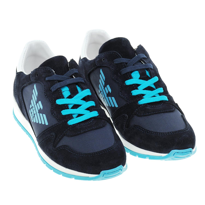 Синие замшевые кроссовкиКроссовки<br><br>