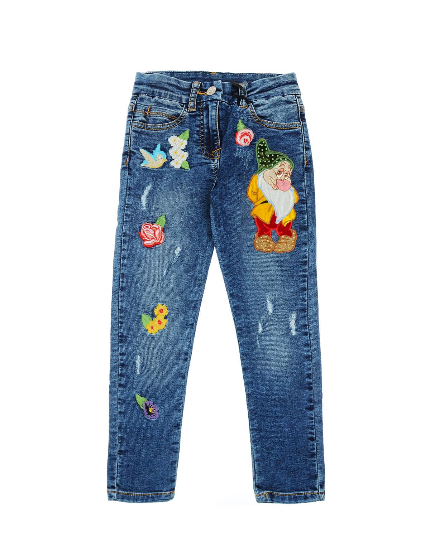 Брюки джинсовые MonnalisaДжинсы<br><br>