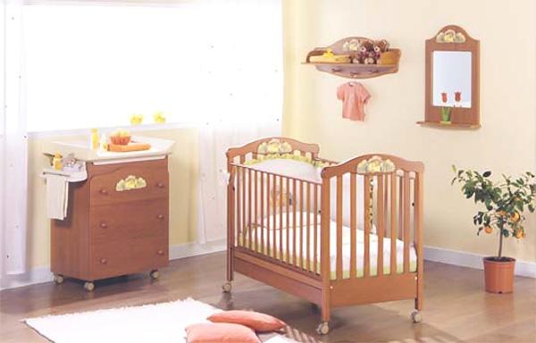 Детская кроватка Erbesi Hippy варианты исполнения.