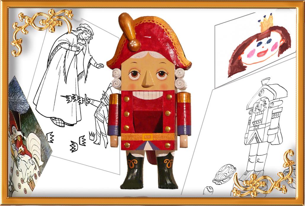 Объявляем конкурс детского рисунка «Щелкунчик»! « Наша новая школа