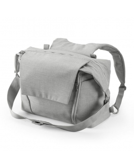 Сумка для мамы Changing Bag, grey melange Stokke