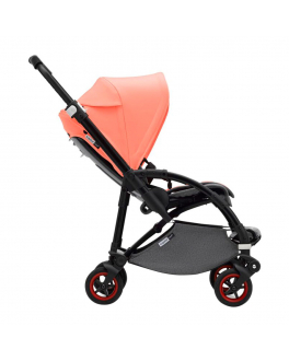 Коляска прогулочная Bee5 Complete black/coral Bugaboo